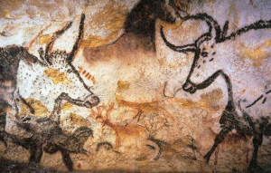 Cave Paintings in Lascaux, France