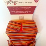 CuteyBaby All-in-One Modern Cloth Diaper
