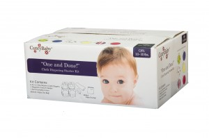 """One And Done!"" Modern Cloth Diaper Starter Kit"