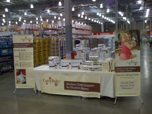 CuteyBaby Booth at Costco Wholesale